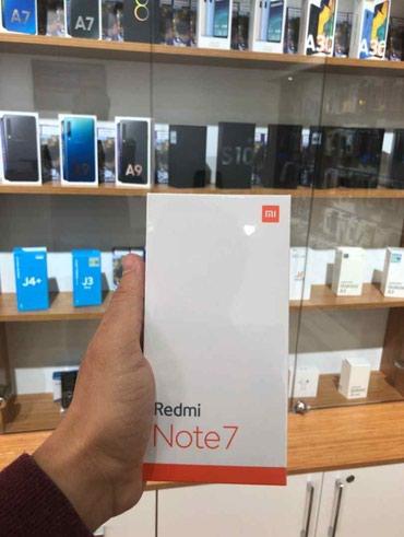 Bakı şəhərində Xiaomi redmi note 7 Telefon resmi magazada satilir temiz orijinal