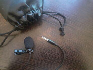 Микрофон, новый(не использовался), но коробка вскрыта