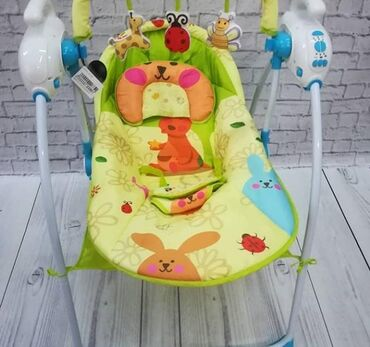 Детские электро-качели-шезлонг (baby cradle) состояние очень хорошее