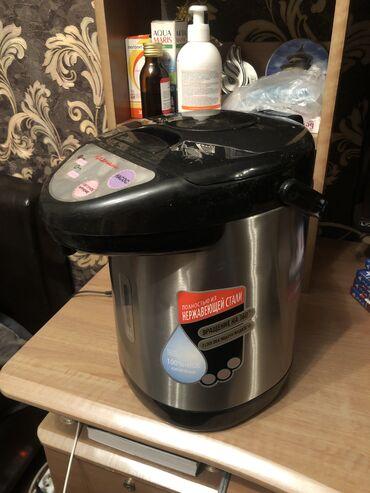 Электрочайники - Кыргызстан: Продаю Термопот 3,8 литров Фирма магнит  В отличном состоянии Нержаве