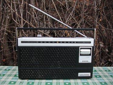 Odličan i kvalitetan stari radio tranzistor poznatog nemačkog - Novi Sad
