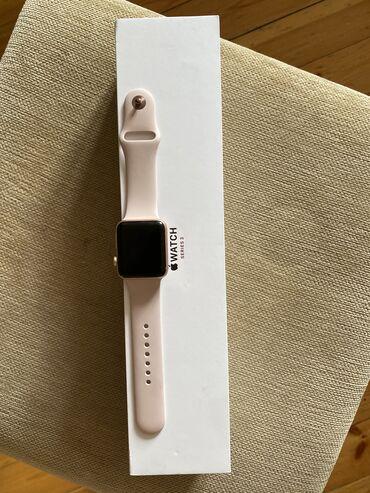 Bej Qadın Qol saatları Apple