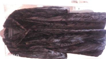 Krzneni kaputi | Indija: Bunda od nerca, izuzetno ocuvana, slabo koriscena, velicina 54