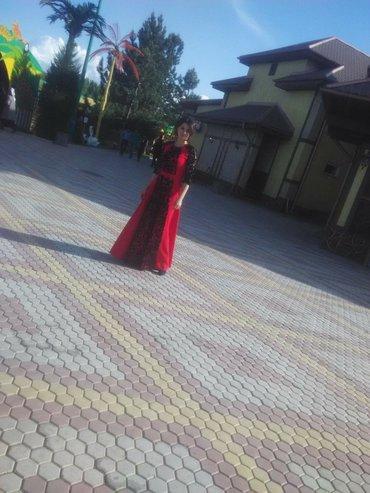 красное платье на свадьбу в Кыргызстан: Продаю шикарное турецкое платье, сидит идеально брала на свадьбу