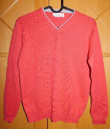 Deciji dzemper - Srbija: Zara crveni deciji dzemper za uzrast 9-10 godina, 140 cm visine, 100 %