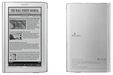 Читалка / Электронная книга Sony PRC 350 Pocket EditionСенсорный экран