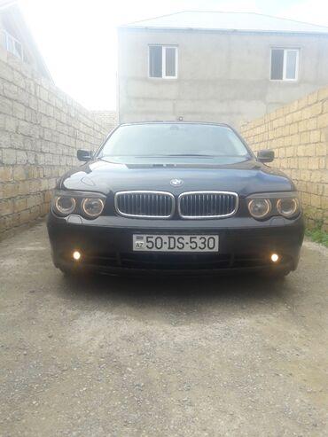 bmw-7-серия-745i-at - Azərbaycan: BMW 7 series 3.5 l. 2002 | 230000 km