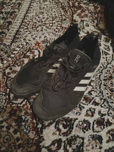 Кроссовки и спортивная обувь - Состояние: Б/у - Джал: Кроссовки адидас 43 размер оригинал,покупался в Москве, если постирать