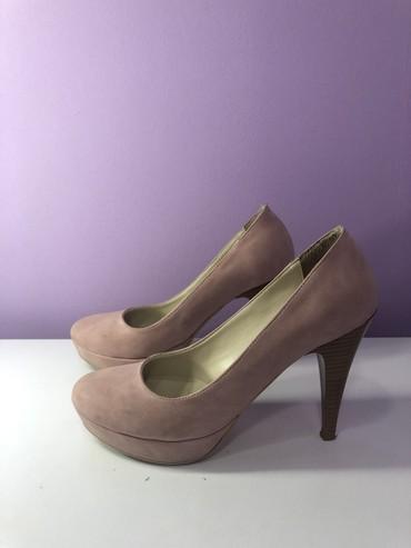 Bebi roze cipele na štiklu, broj 38  - Crvenka
