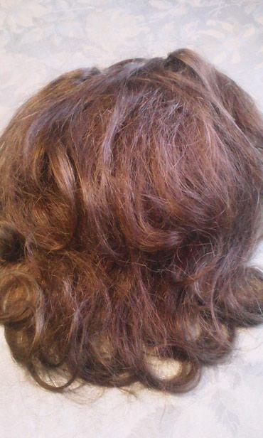 Шиньон накладной из натуральных волос не крашеный в Бишкек