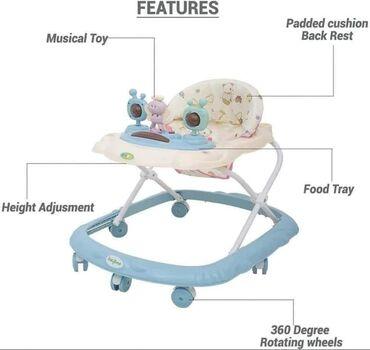 Dubak za bebe sa zvečkicama na tabli🥰Cena 3800 dinara 🥰Podesiva visina