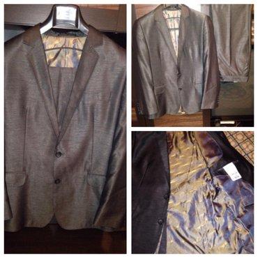 Продаю совершенно новый мужской костюм,производство Турция,покупали в  в Бишкек