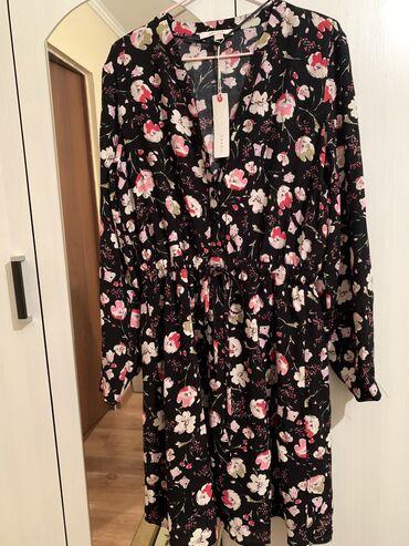 платье с баской большого размера в Кыргызстан: Новое брендовое платье от esprit привезли с Германии,размер не подошё