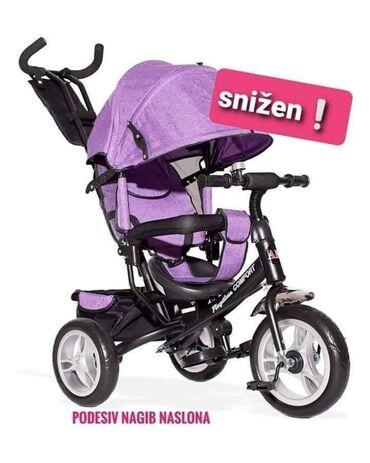 Tricikl za preporuku Tricikl - guralica Comfort sa podešavanjem