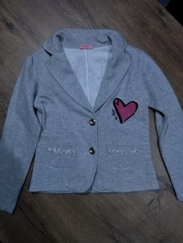 Dečija odeća i obuća - Nova Pazova: Pamučni sako vel 12, pantalone Zara kids vel 9, sako cena 400, cena