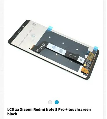 Lcd za xiaomi redmi note 5 pro sa touch screenom - Backa Palanka
