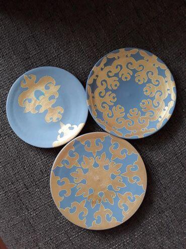 Другие товары для сада в Душанбе: Настенные декоративные тарелочки ручной работы. В наличии и на заказ
