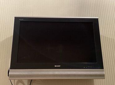 Sharp televizor diaqonal 80 ishlek veziyyetde pultu yoxdur. 150