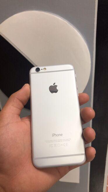 touch 6 в Кыргызстан: Б/У iPhone 6 64 ГБ Серебристый