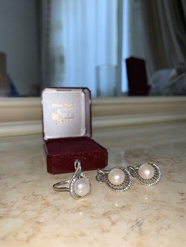украшения под водолазку в Кыргызстан: Новый комлект чистого серебра (925) Ни разу не надетый