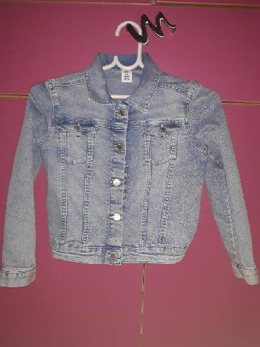 Dečije jakne i kaputi | Velika Plana: H&M Texas jakna, vel 128, 7-8 godina. Extra stanje, kao nova!!!