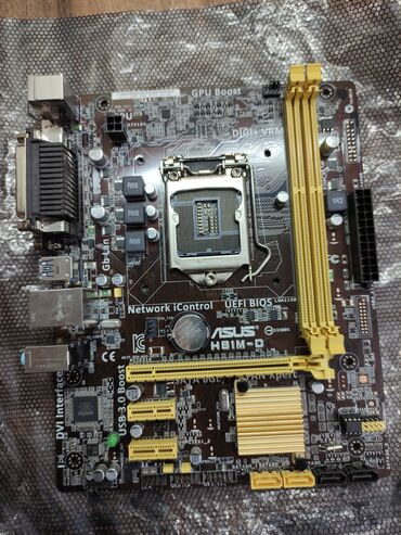 Asus h81m-d (DDR3) сокет 1150