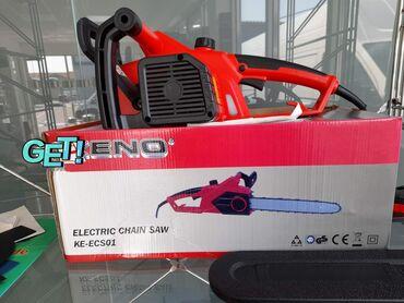 Električna testera je nova i u originalnom Keno pakovanju oznake