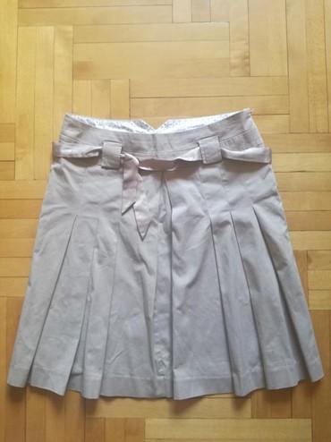 Zimska mini karirana suknja poluobim struka je - Srbija: S.Oliver kvalitetna suknja iz uvoza. Velicina 40. Poluobim struka 43