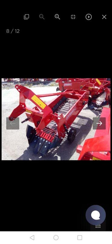 Трактор т 40 цена новый - Кыргызстан: Картофеля капатель Бульба-1,самый надёжный аппарат на сегодняшний