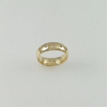 Кольцо обручальное из желтого золота в Бишкек