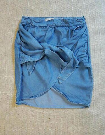 Zara teksas suknjica ne nošena.  Velicina XS/S Pogledajte i ostale moj