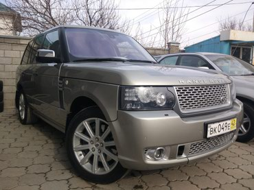 Lend Rover Range Rover Supercharged в Бишкек