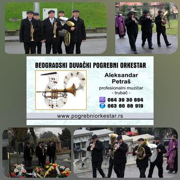 Ujedno dosta - Srbija: Pogrebni orkestar bleh muzika za sahrane trubači BeogradPosebno teški