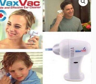 Elektronika - Vrnjacka Banja: WaxVac aparat za čišćenje ušiju1.399 dinara Wax Vac je odlican aparat