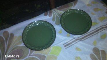 Unikatni tanjiri ostala jos dva komada  - Cuprija