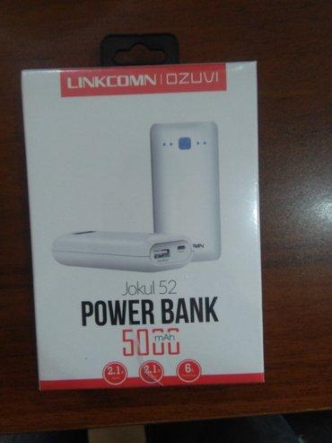 Bakı şəhərində Power bank 5000 mah yenidi