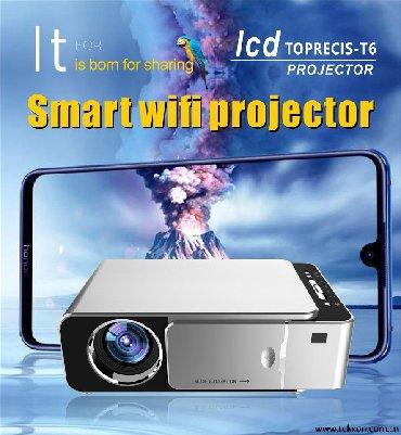 проектор-led в Кыргызстан: Проектор Wi-light T6 Plus (WI-FI) БишкекWi-light T6 это Led проектор