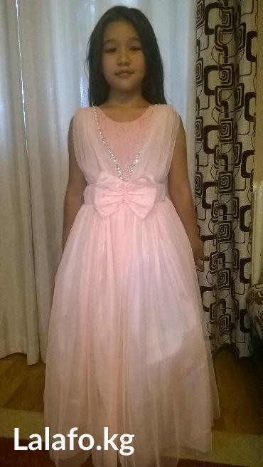 Детский мир - Покровка: Вечернее красивое платье одели один раз нежное очень красивого цвета