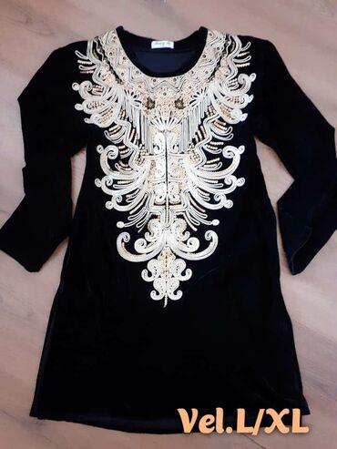 Haljine | Borca: Vrh haljin, vel.L/xp, pliš  650 din