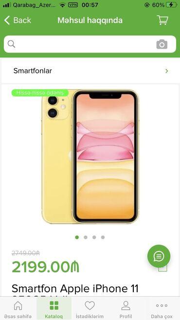 apple 6 - Azərbaycan: Yeni IPhone 11 256 GB Sarı