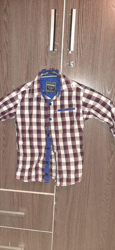 Детский мир - Новопавловка: Рубашка на мальчика 4-5 лет прошу прощения погладить надо состояние