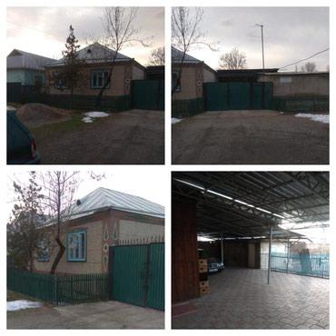 ПРОДАЮ: кирпичный дом, в Военно в Бишкек