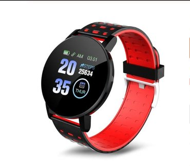D18 Smart Watch Full Touch Clock Blood Pressure Heart Rate