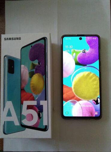 """Mobilni telefoni - Kraljevo: Na prodaju samsung A51, 4/128gb, boja """"crush green"""". Ekstra stanje i"""