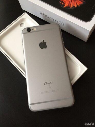 apple iphone 6 s в Кыргызстан: Б/У iPhone 6s 64 ГБ Серебристый