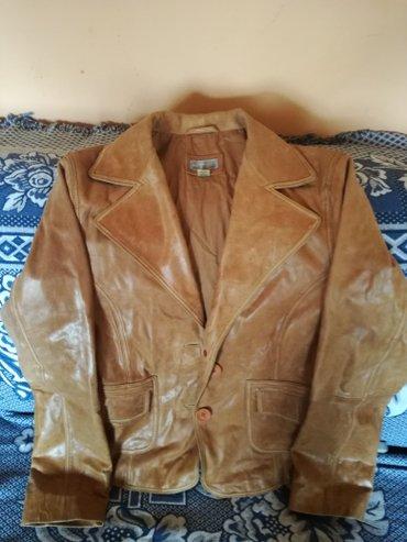 Ženska kožna jakna jednom obučena,mali mi broj u extra stanju. in Novi Sad