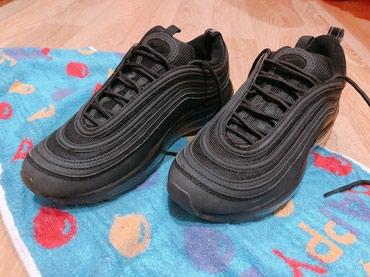 Кроссовки чёрные Nike Air Max 97. В хорошем в Бишкек