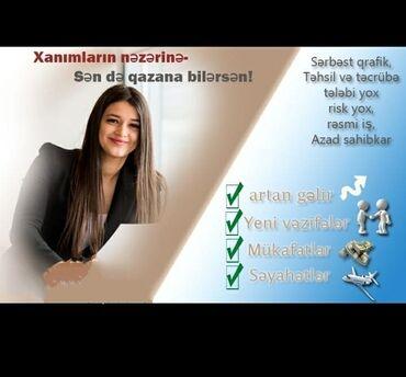 şəkilli qadın qalın futbolkaları - Azərbaycan: Şəbəkə marketinqi məsləhətçisi. Oriflame. İstənilən yaş. Natamam iş günü