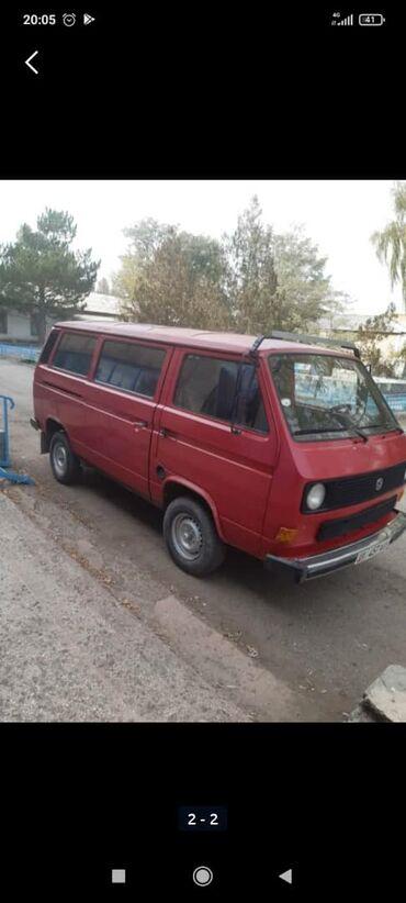 Сокулук кыздар - Кыргызстан: Volkswagen Transporter 1.8 л. 1988
