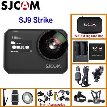 Экшн-камера SJCAM SJ9 STRIKE 4 K, Спорт камера Sjcam SJ9 Strike Black
